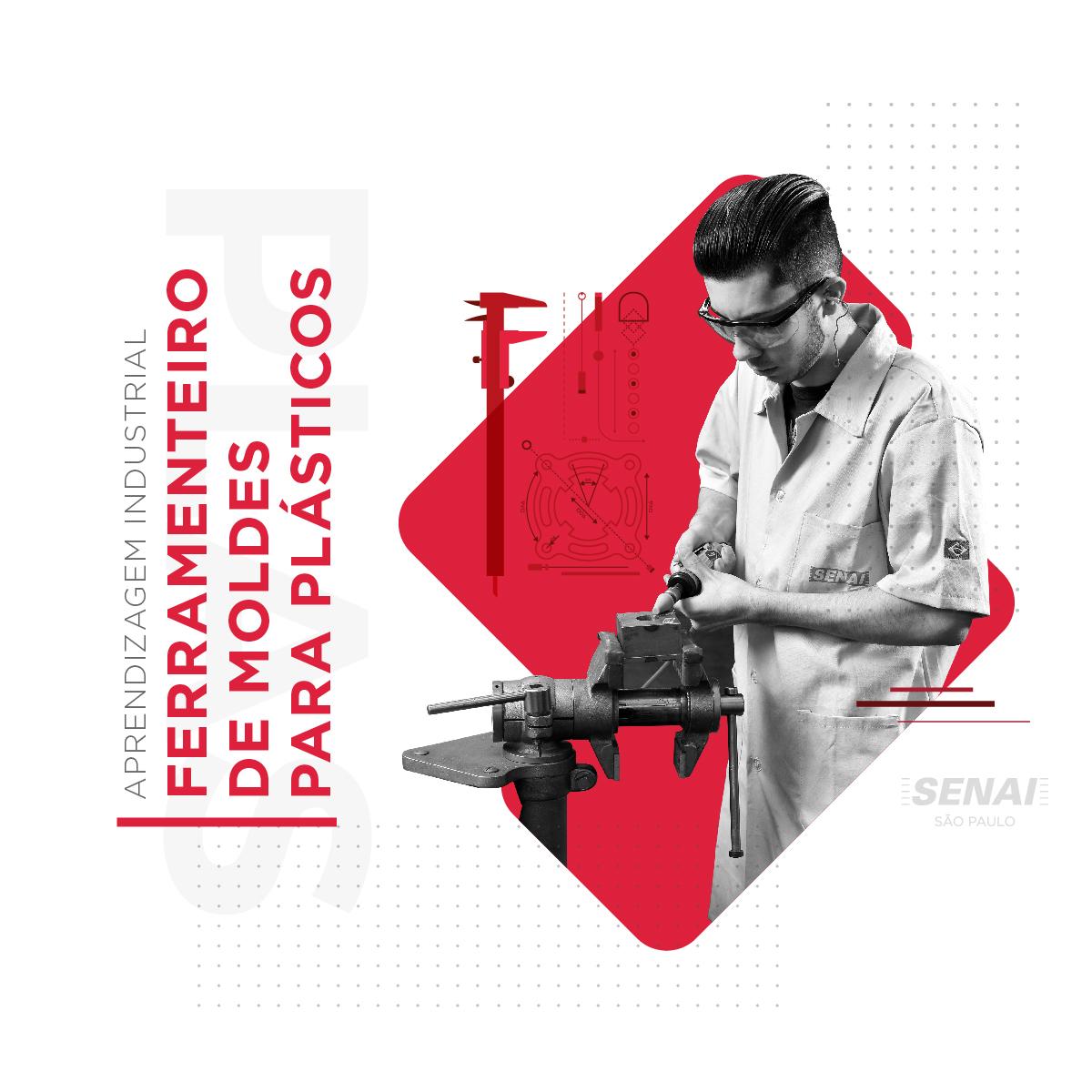 FERRAMENTEIRO DE MOLDES PARA PLÁSTICOS